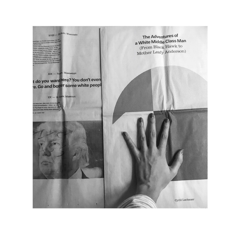 White Supremacy - photography, newspaper - aanagnostou13 | ello