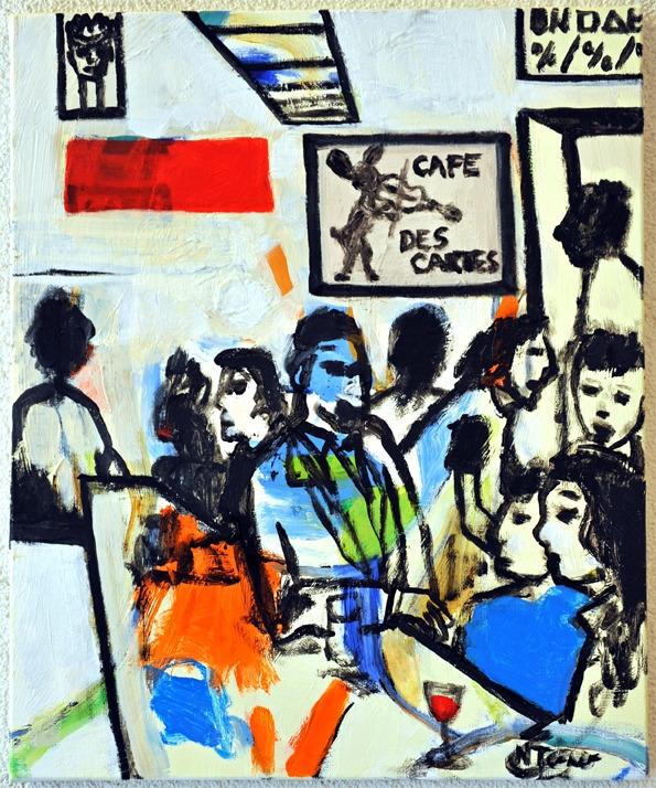 Au Lapin Agile Cabaret, Paris  - nealturner | ello