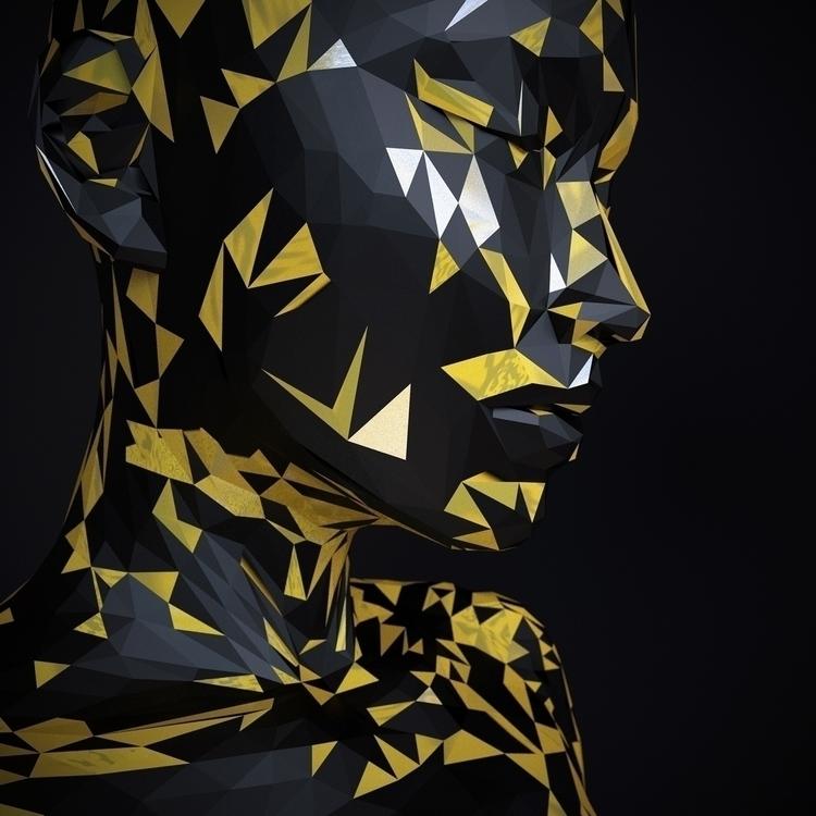 3D, Digital, Art, render, lowpoly - z3rogravity | ello