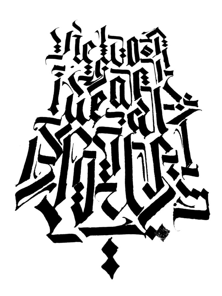 night session - calligraphy, calligraffiti - boris_jov | ello