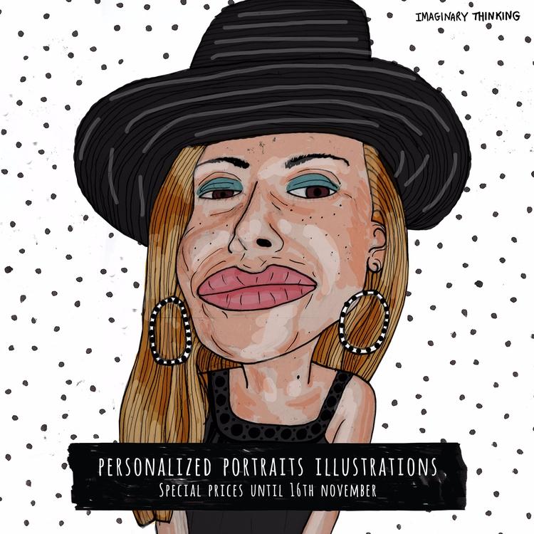 Customised portrait illustratio - imaginarythinking   ello