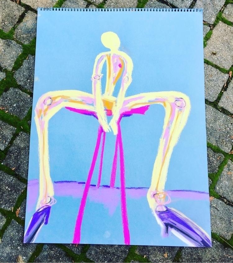 LEGGGGGS! - modernart - abstractartart - nash-heff | ello
