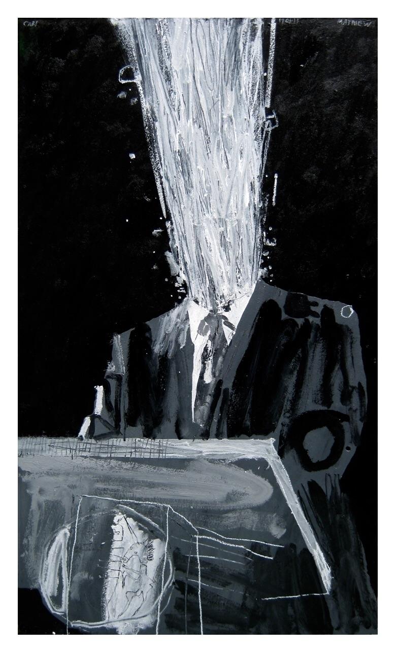 Speech. 105x60cm, 2013 - art, painting - carpmatthew | ello