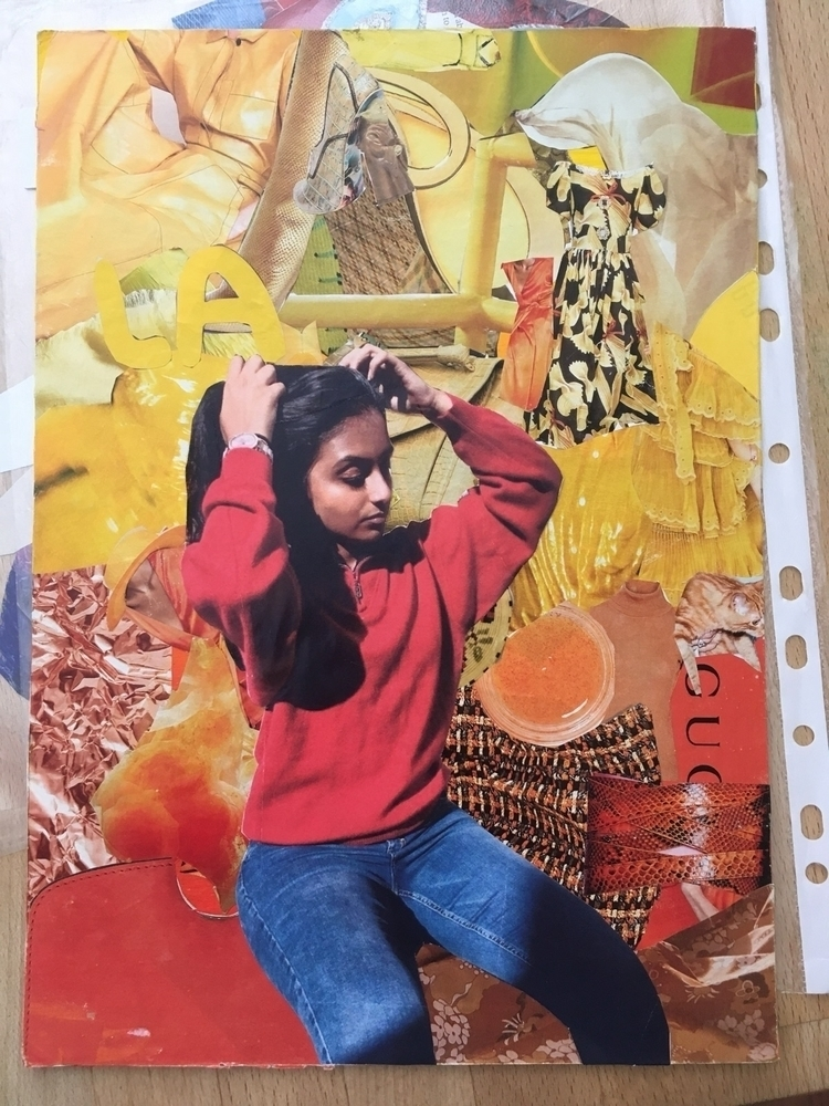 collage, fashionably sunset - student - marthaselby | ello