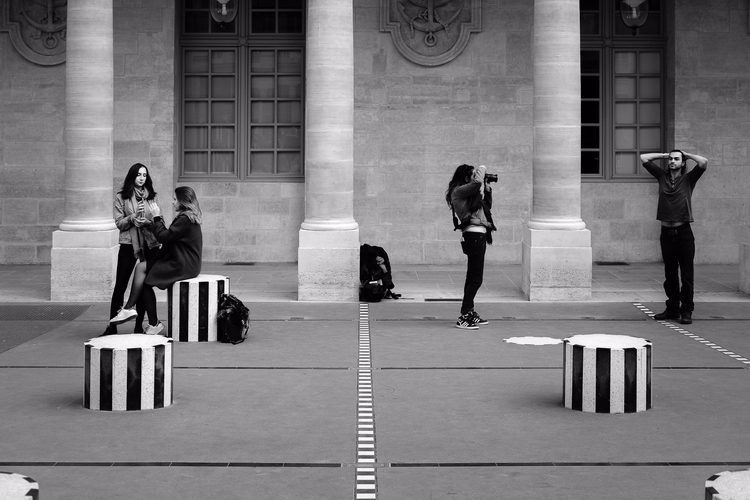 Paris, Palais Royal 2017 - photography - hpchavaz | ello