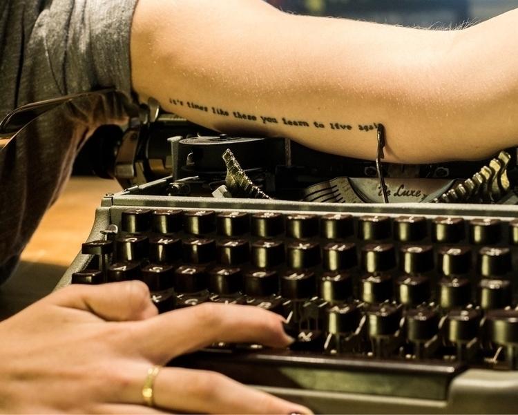 Tattoo Typing 2016 - ellophotography - siornejohn | ello