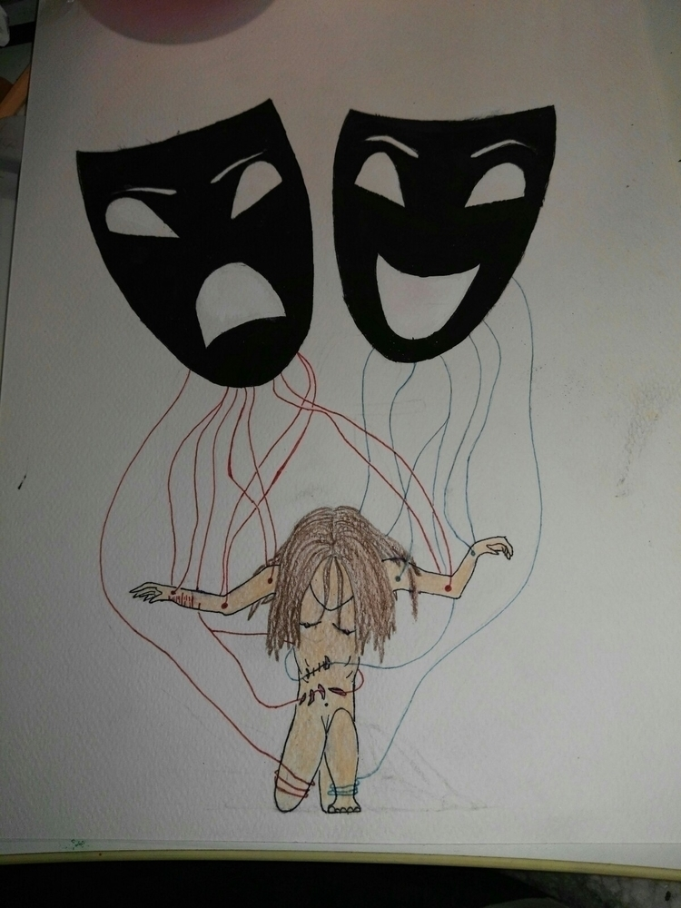 NightmareInTheDaylight - drawing - alaska00 | ello