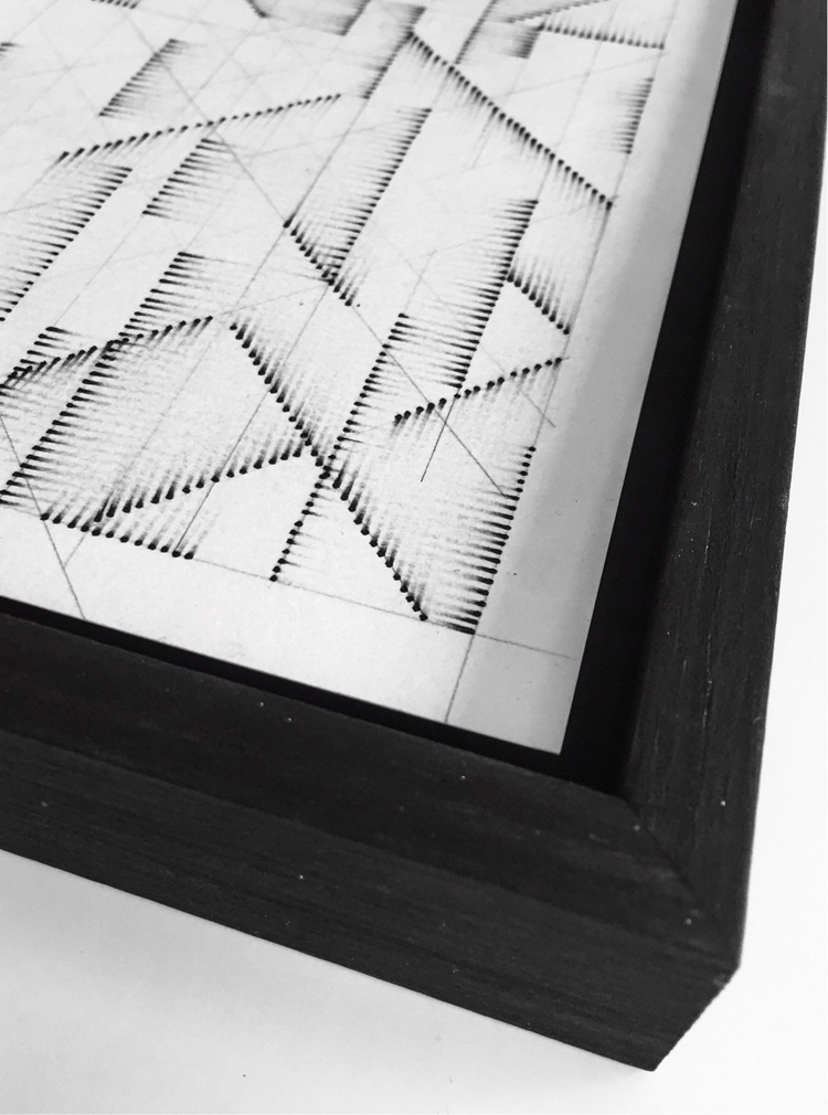 progress… framing piece - abstractart - sachaserano   ello