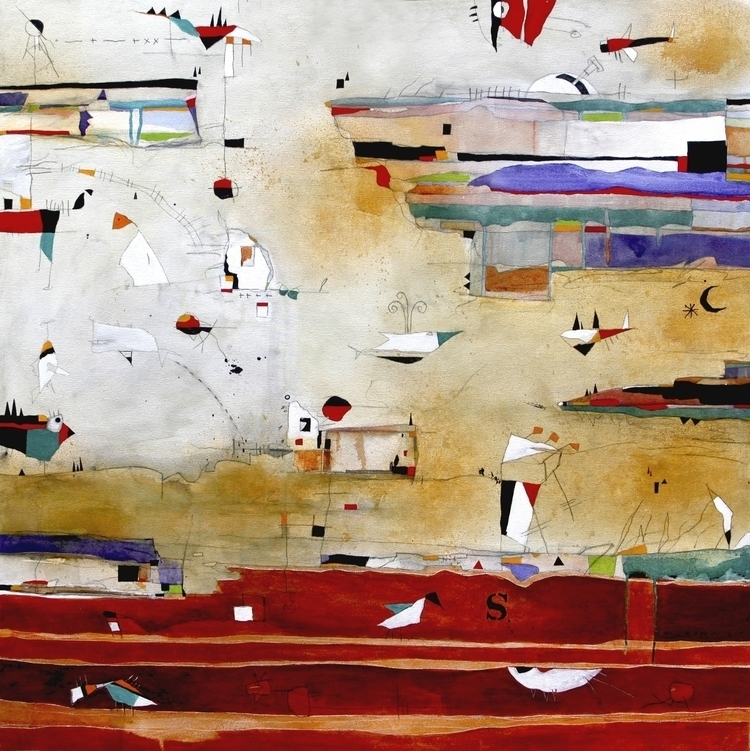 Ocean Chronicles - painting - scheufler | ello