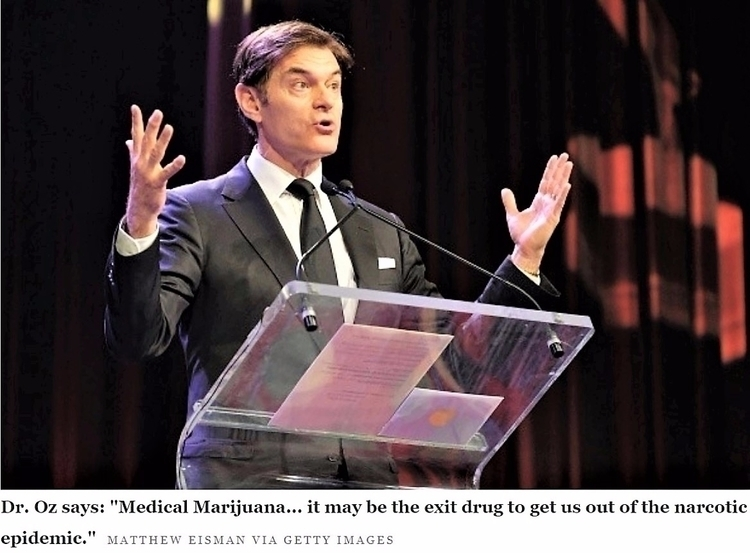 Dr. Oz Thinks Medical Marijuana - ellocannabis | ello