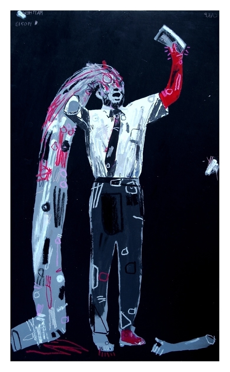 116x70cm, 2013 - art, painting, faith - carpmatthew | ello
