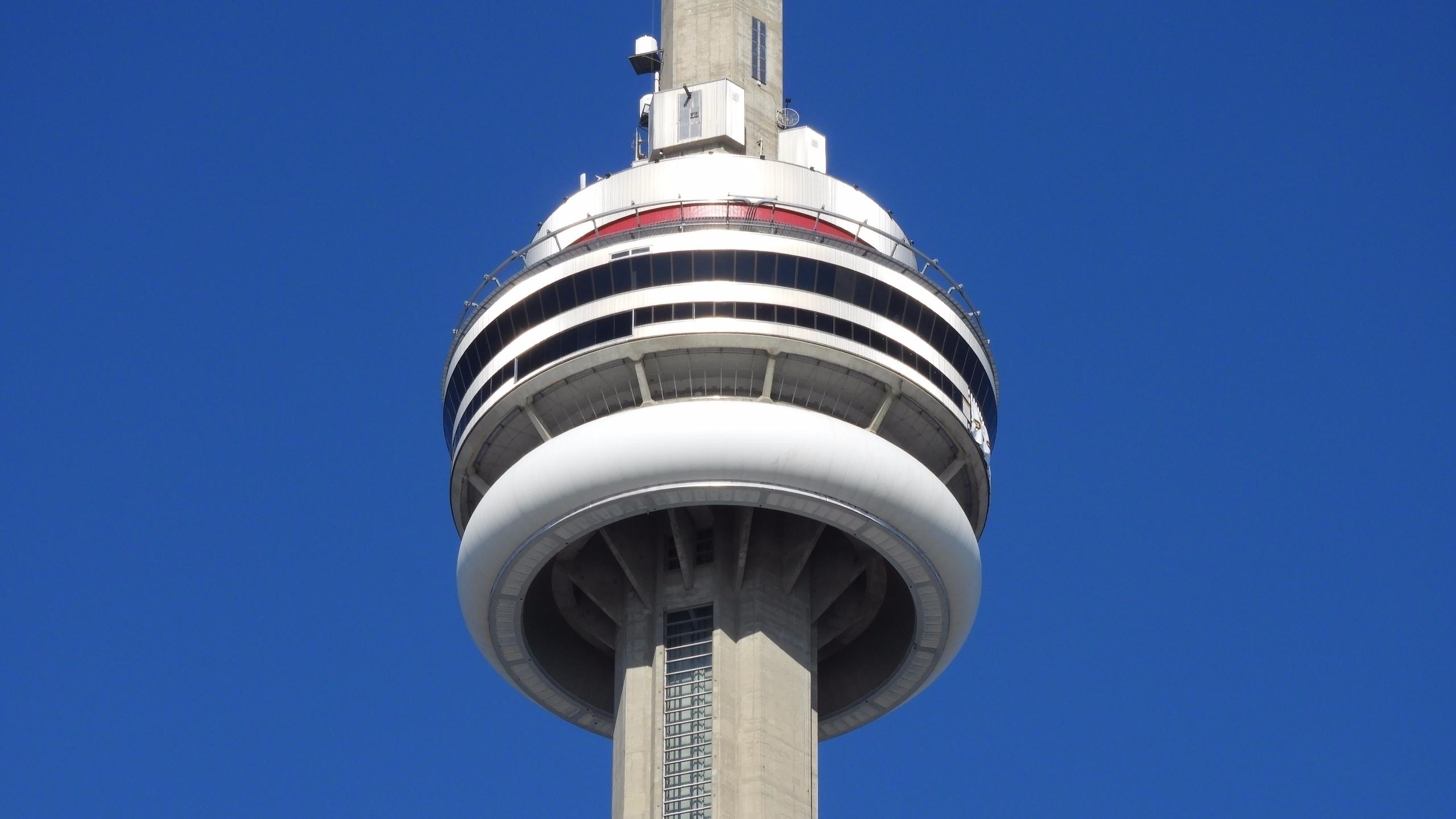 Closeup CN Tower, Toronto - architecture - koutayba | ello