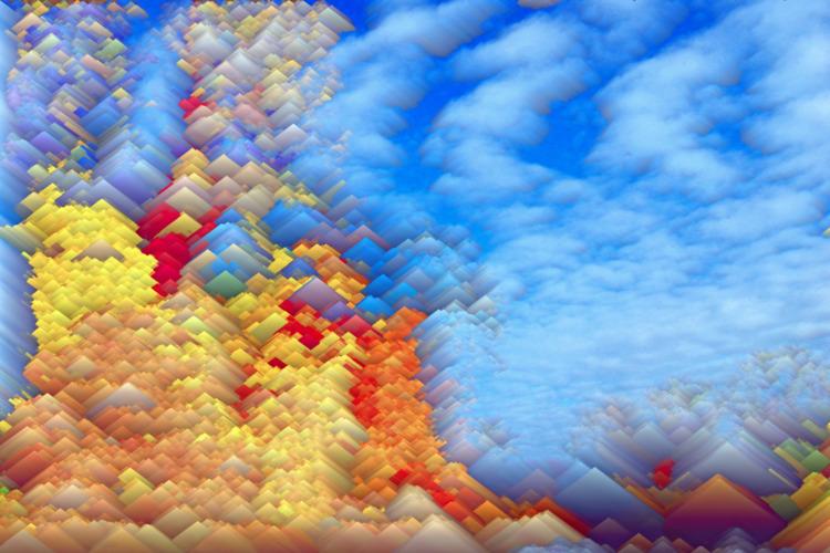 sky shore - nature, clouds, digitalart - jazer | ello