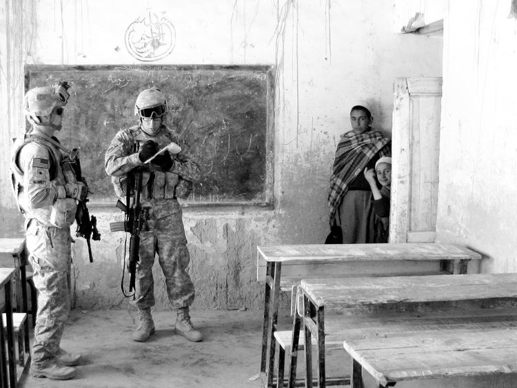 Afghanistan, school, children - usnrmustang | ello