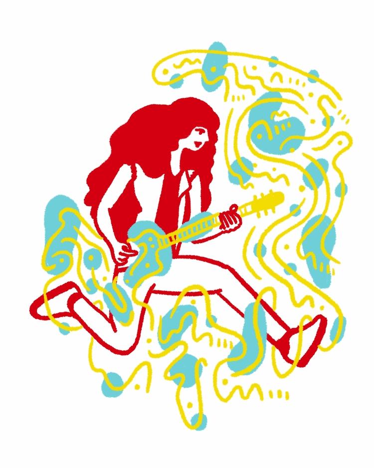 Shreddin - illustration, illustrator - heybop | ello