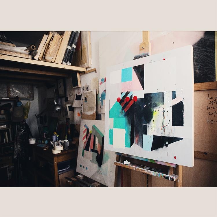 atelier. '24/07/2017' 70x70cm A - aruizvillar | ello