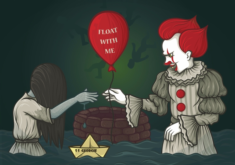 Pennywise Samara Submitted [Day - beataobscura | ello