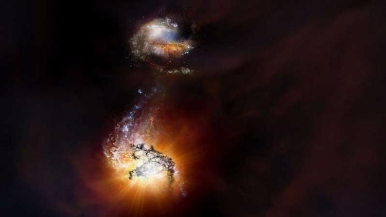 Astrónomos observan fusión de g - codigooculto   ello