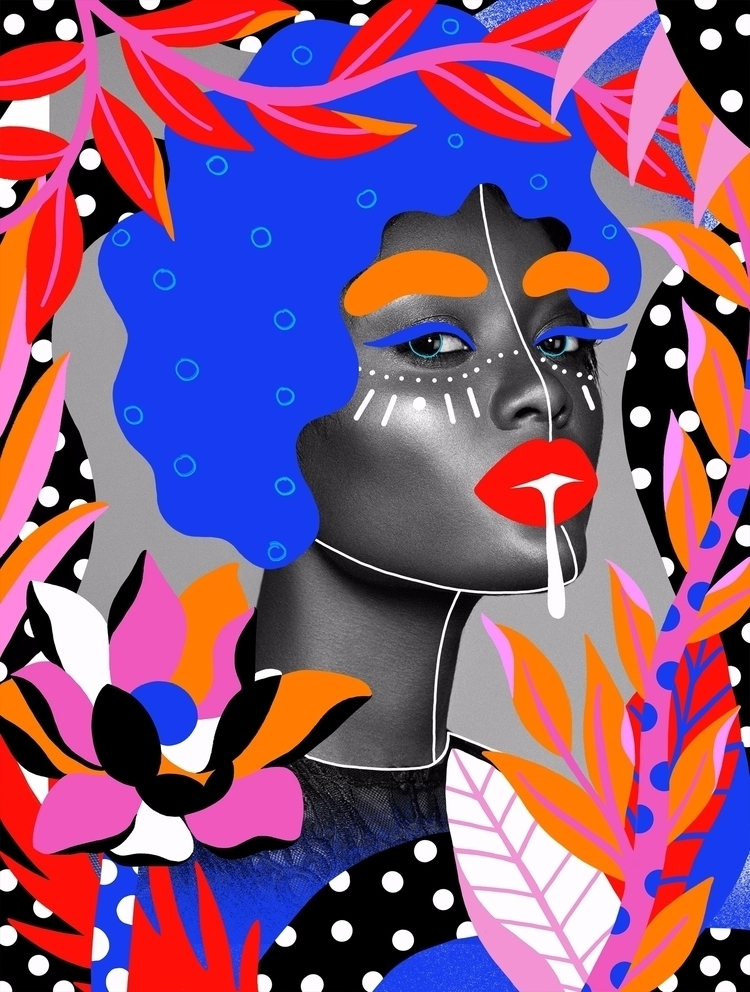 Tropical Andreea Robescu - illustration - andreearobescu | ello