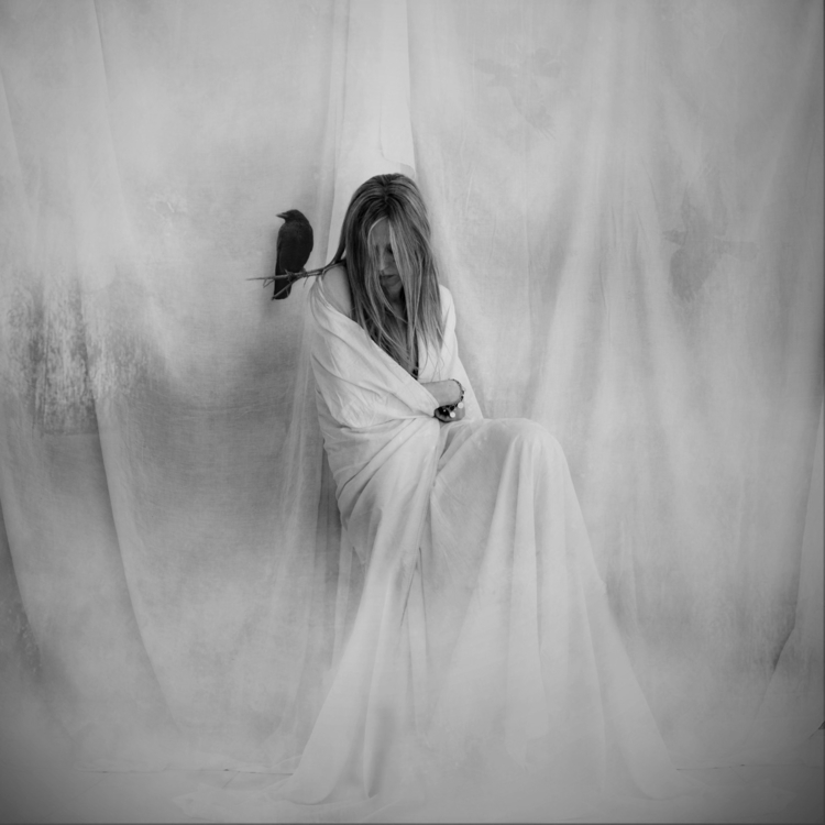 ghosts leave - blackandwhite, moody - magdalenadb   ello