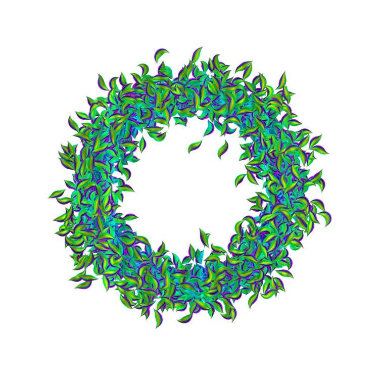 leaf - openframeworks, creativecoding - armdz | ello