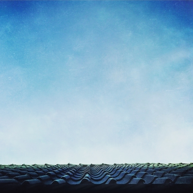 morning, light, roof, sky, blue - yogiwod | ello