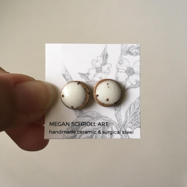 Earrings! Shop - wearable, wearables - meganschrollart   ello