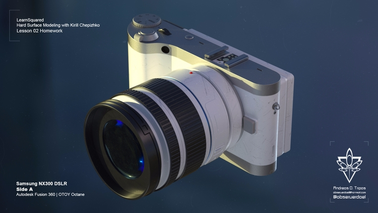 prop design Kirill Hardsurface  - observerdoel | ello