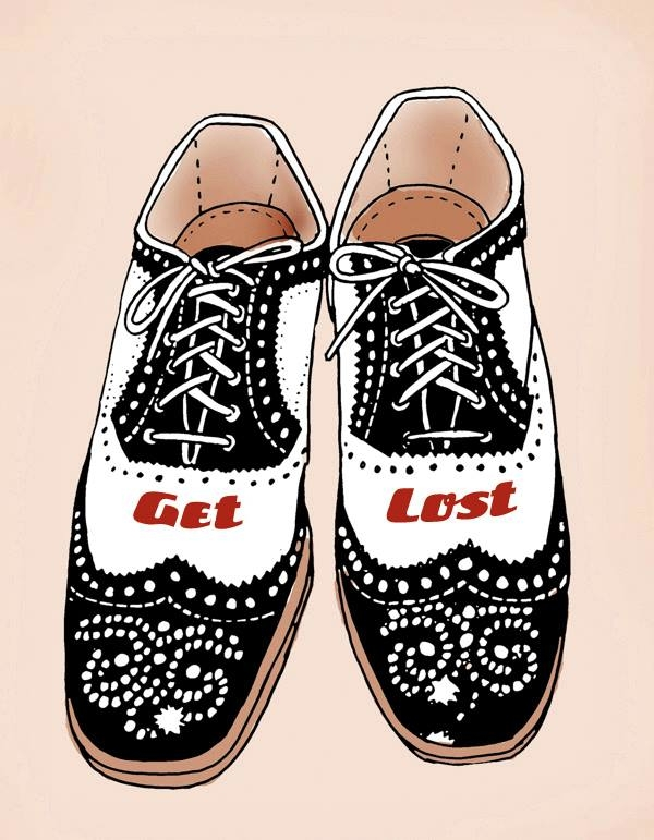 illustration, shoes - mark-andresen   ello