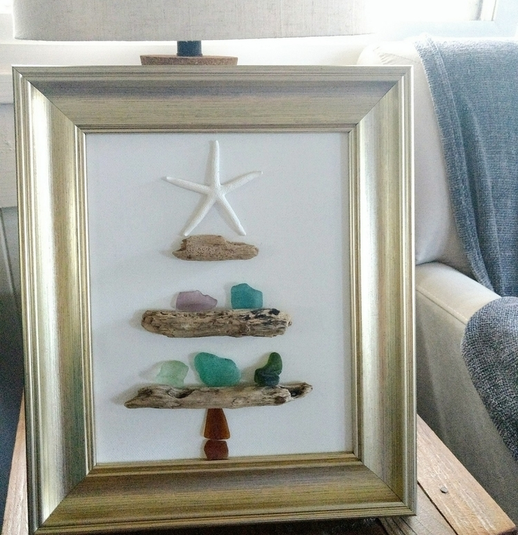 Hawaiian Sea Glass Driftwood Ch - flatterydesigns | ello
