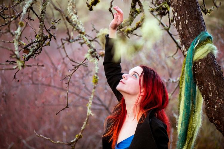 redgreenblue, rgb, redhead, hiddenorchard - akinokitsune | ello