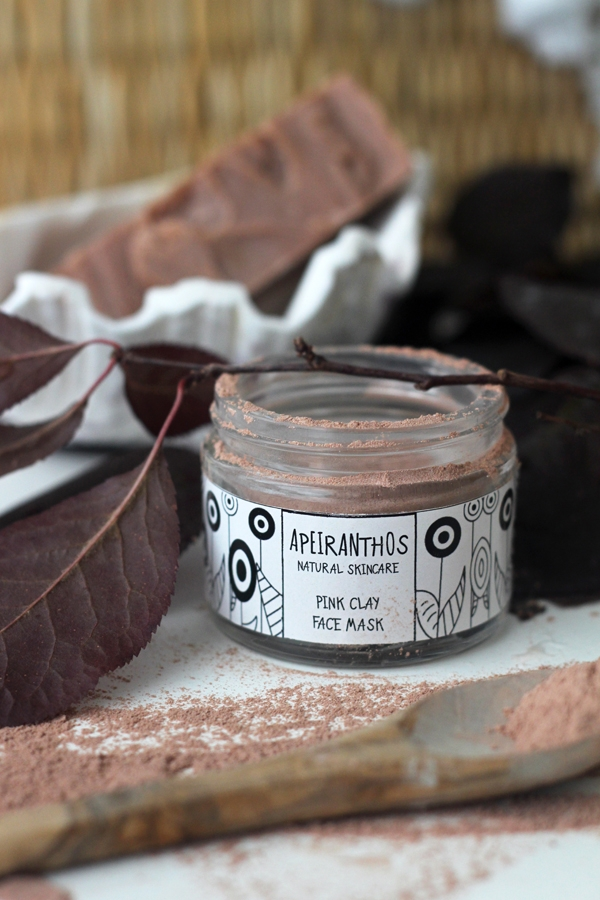 PINK CLAY MASK Pink clay perfec - apeiranthos | ello