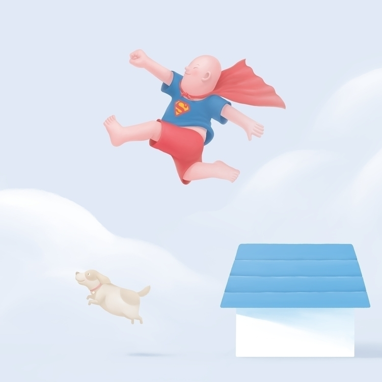 Jump | Illustration A1 (841mm 5 - butterflow | ello