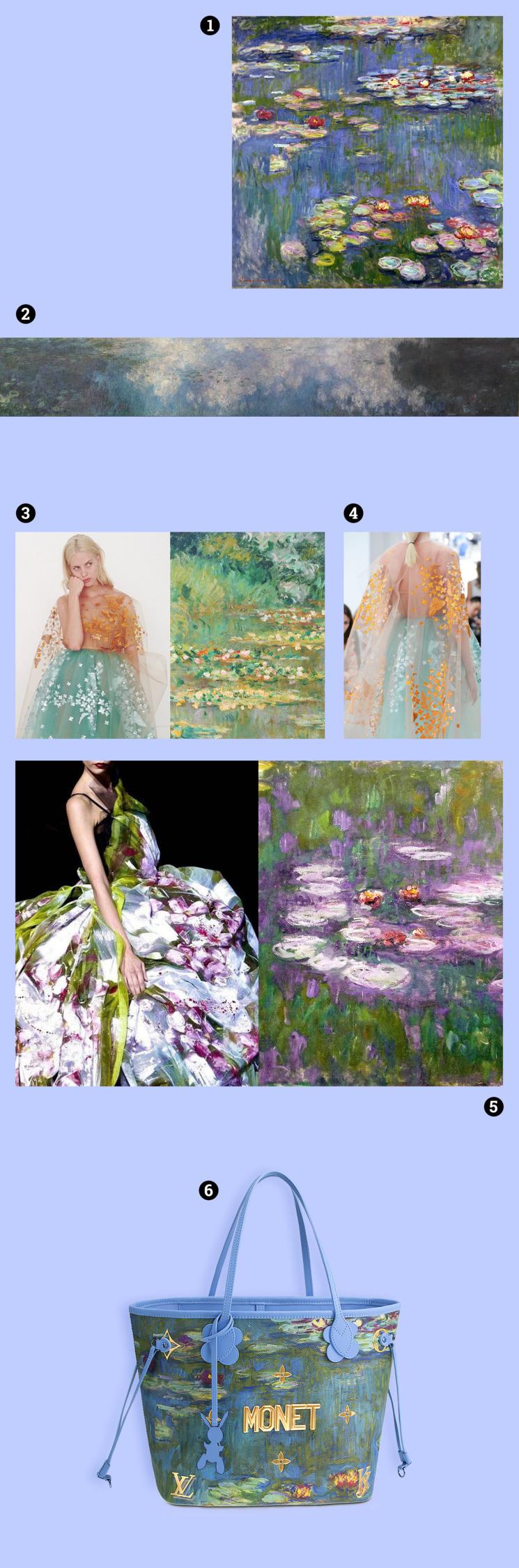 Impressionism MOODboard sztukau - s_u_ | ello