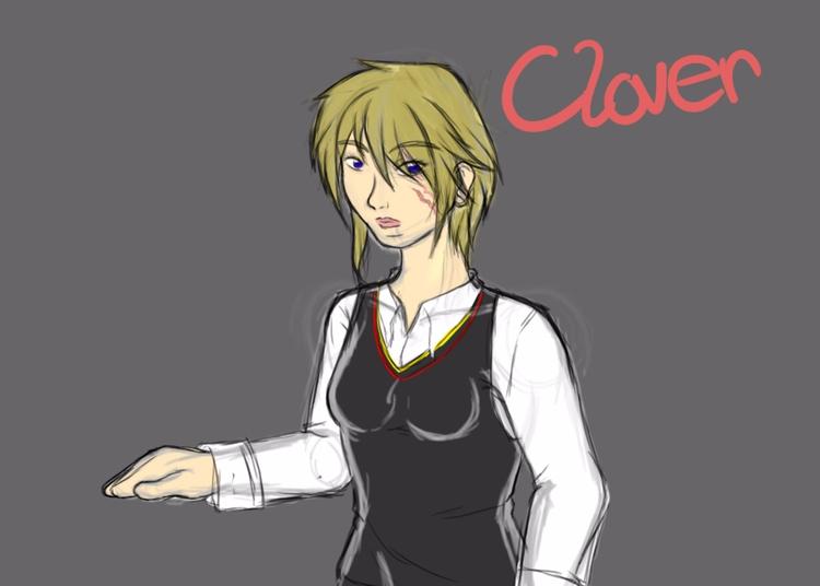 Clover. student scars. find pla - artistakemidesigns   ello