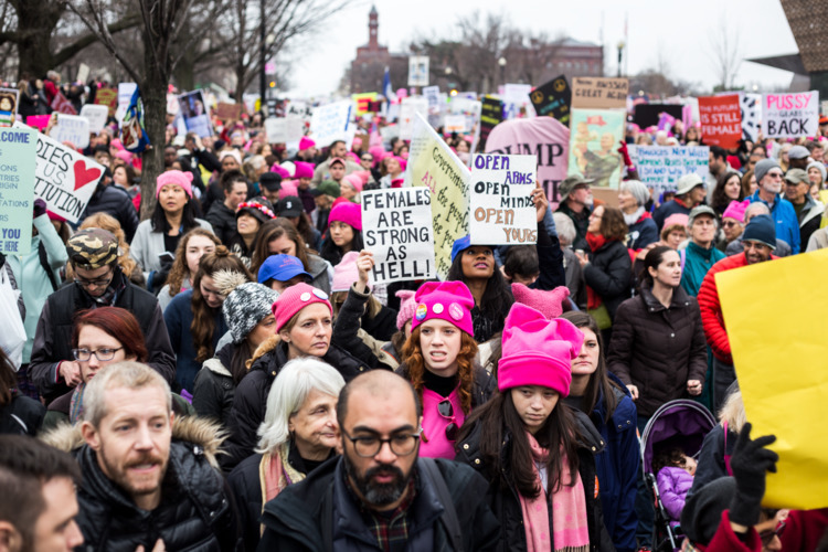 Submitted Good - womensmarchonwashington - bridgette | ello