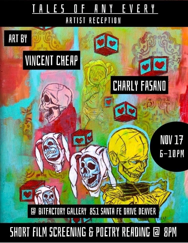 Join tonight Artist Reception T - bitfactory | ello