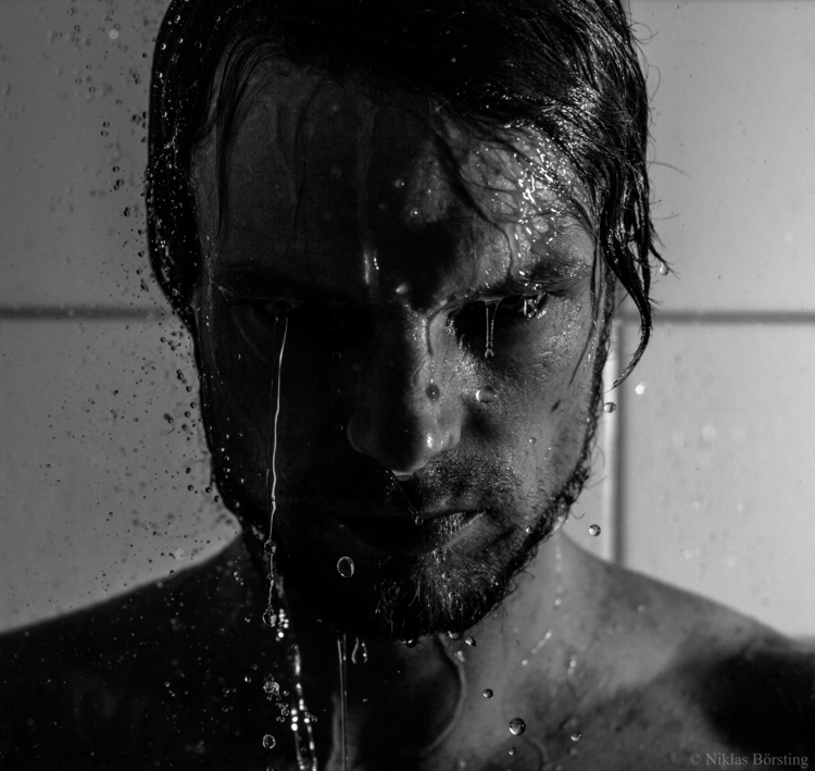 portrait, anger, water, timeless - niklasborsting | ello
