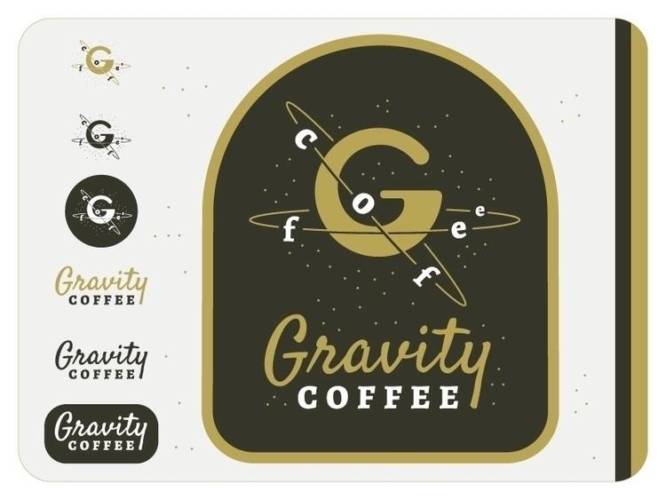shop - Coffee, logo, space, gravity - jessienewhouse | ello
