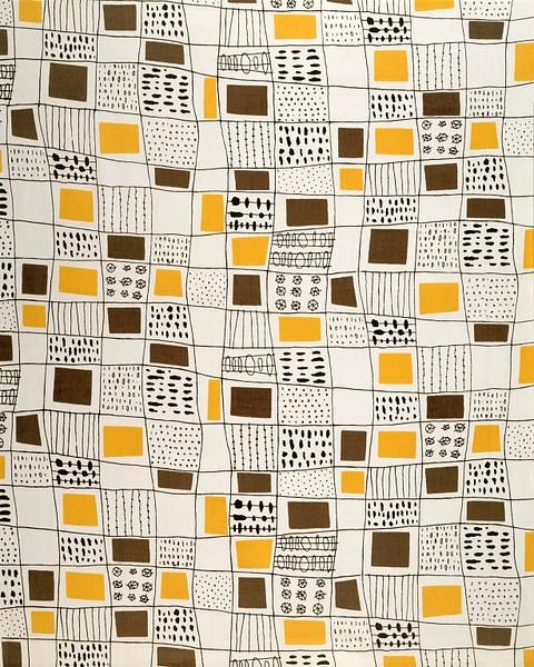 Terence Conran, fabric design,  - arthurboehm | ello