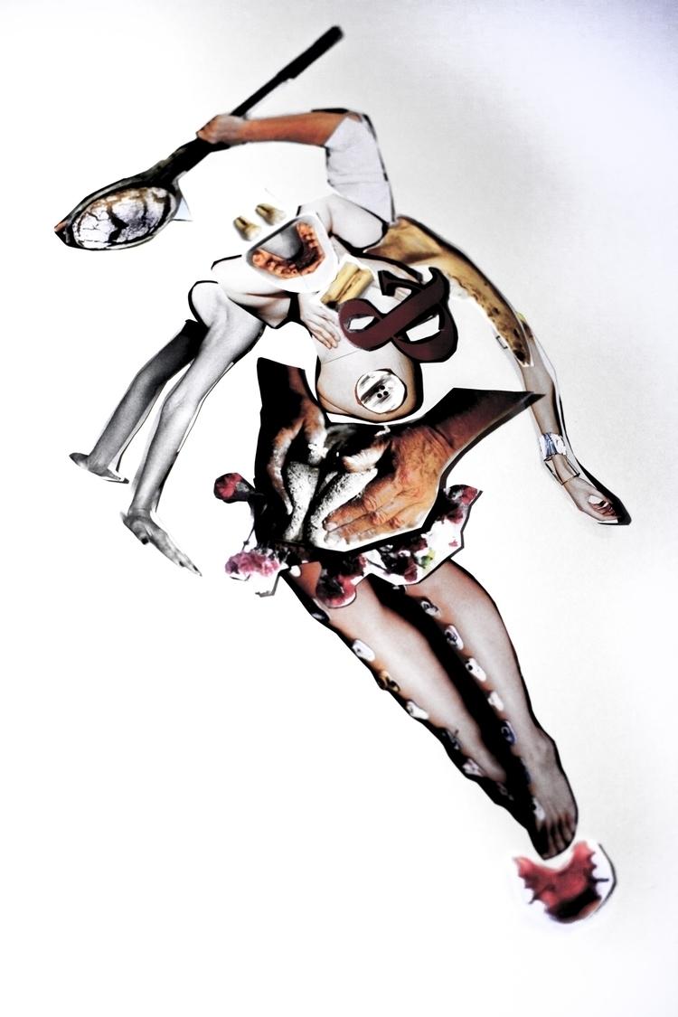 Gaia. Collage - oldskool, collage - coffeebean1 | ello