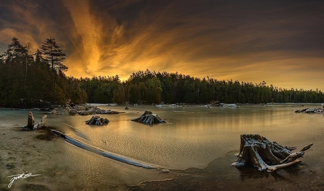 Sunrise Rockwood, Ontario, Cana - justinomagalona | ello