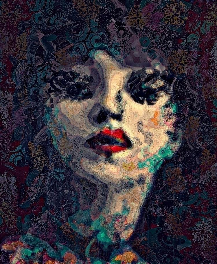 fineart, artist, portrait - yvonneschlawe | ello