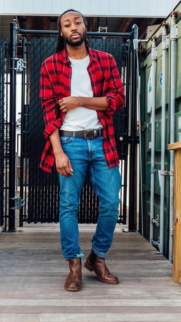 Grown man status - locs, lumberjack - deandrebush | ello