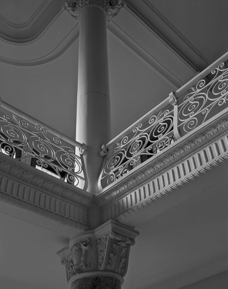 chapel column, Foley Hall (raze - frankfosterphotography | ello