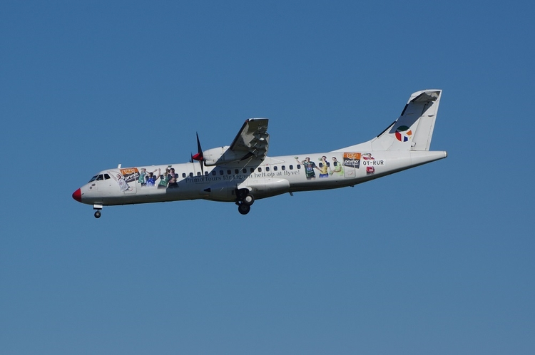 Danish Air Transport ATR72, Kop - brummi   ello