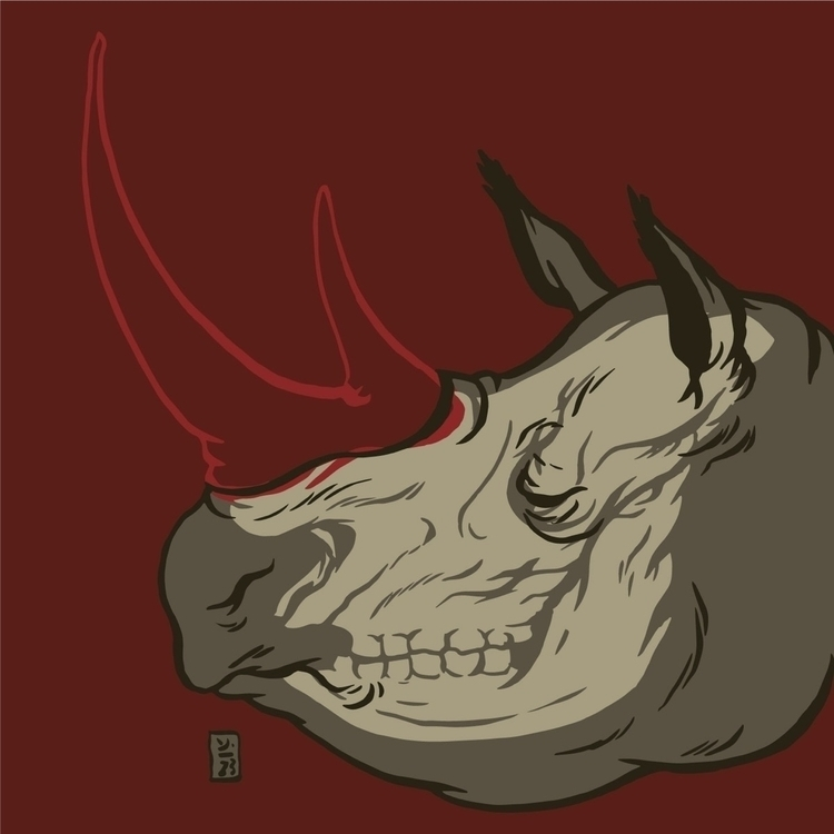 Vanishing Giant - illustration - thomcat23 | ello