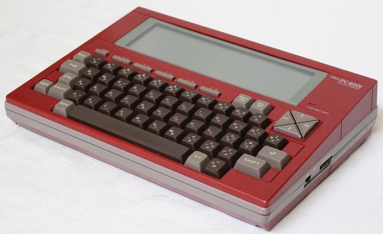 PC-8201 (NEC 1983 - RetroPC - shingos | ello