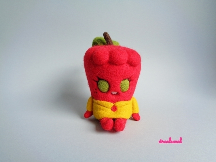Appy, sweet quiet red apple gir - droolwool | ello