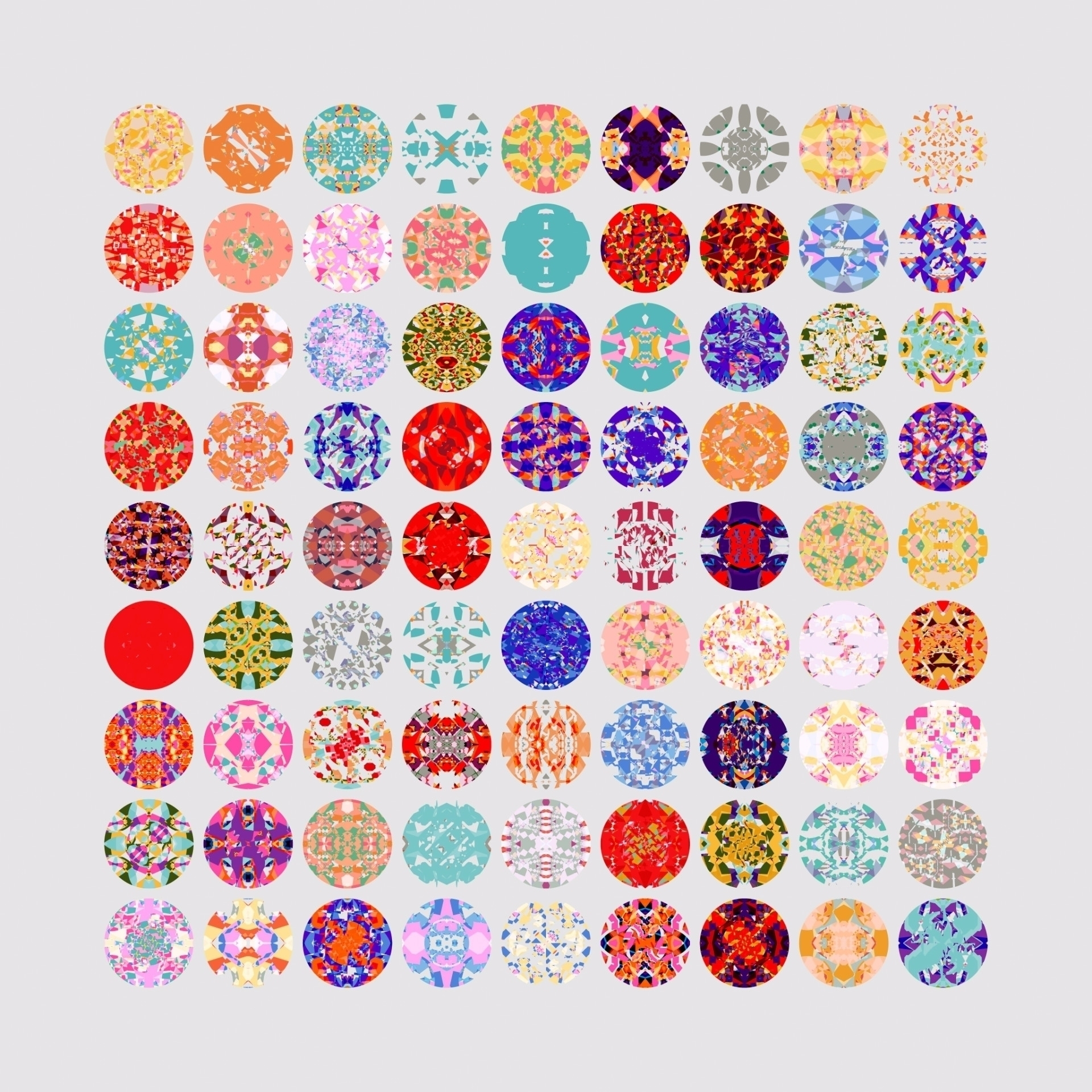 Procedural patterns created Fil - yuyatakeda | ello